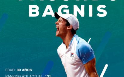 Copa Davis: Facundo Bagnis reemplaza a Guido Pella