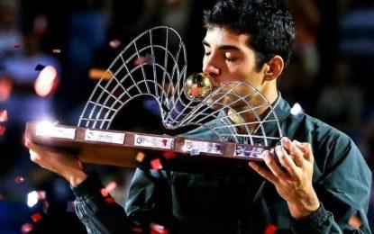 El chileno Cristian Garín es campeón del Río Open