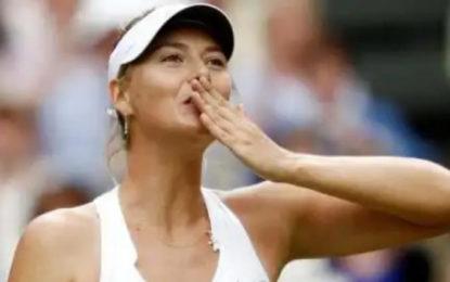 Se retira María Sharapova del circuito
