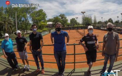 El Presidente Agustín Calleri visitó clubes de la Zona Sur del GBA