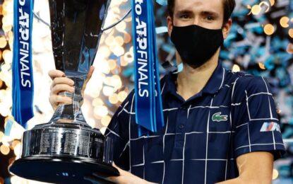 Daniil Medvedev campeón del Nitto ATP Finals