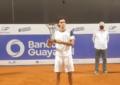 Francisco Cerúndolo se consagró campeón del Challenger en Guayaquil