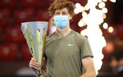 El italiano Jannik Sinner conquistó el ATP 250 de Sofia.