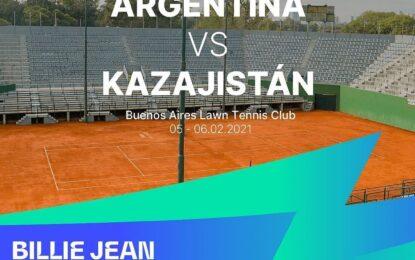 Billie Jean King Cup: la Selección Argentina de Tenis vuelve al Buenos Aires Lawn Tennis Club