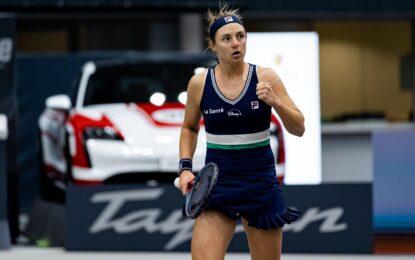 WTA Linz: Triunfó Nadia Podoroska y logra su pase a octavos