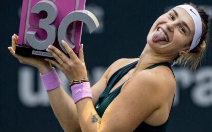 WTA : Aryna Sabalenka campeona en Linz