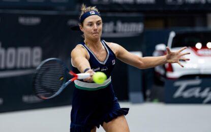 Nadia le ganó a Giorgi y se ubica en cuartos de final en Linz