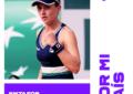 Nadia Podoroska una de las protagonistas del marketing de la WTA