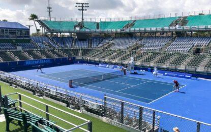 El primer torneo del calendario esta confirmado será Delray Beach Open