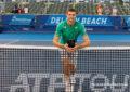 El tenista polaco Hubert Hurkacz conquistó el ATP 250 de Delray Beach