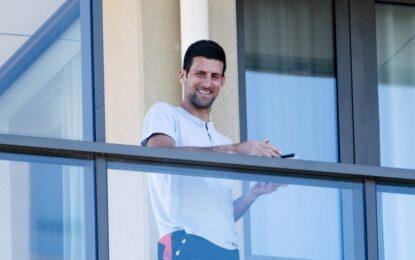 Djokovic publicó un comunicado en medio de la cuarentena del Australian Open