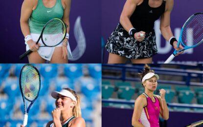 En el ATP 500 de Abu Dhabi se definieron las semifinalistas