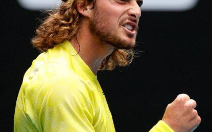 Australian Open: Batacazo de Tsitsipas ante Nadal y ganó su pase a semis