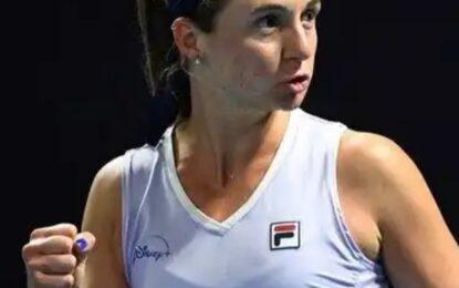 Nadia Podoroska le ganó a la número 9 del mundo y avanza a cuartos