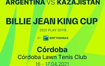 Billie Jean King Cup: Argentina recibirá a Kazajistán en Córdoba