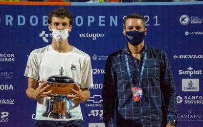 La Copa del Centenario AAT quedó en manos de Juan Manuel Cerúndolo