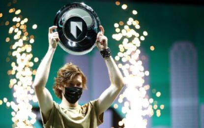 ATP 500:  Andrey Rublev campeón en Rotterdam