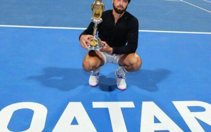 Nikoloz Basilashvili campeón en Doha