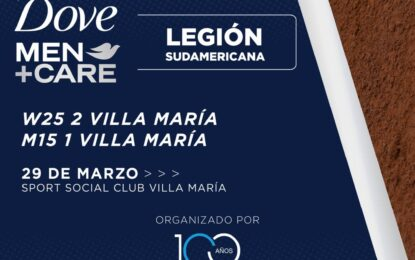 El Circuito Dove Men+Care Legión Sudamericana desembarca en el país con 4 torneos organizados por la AAT