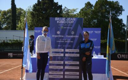 Podoroska abrirá la serie entre Argentina y Kazajistán ante Putintse