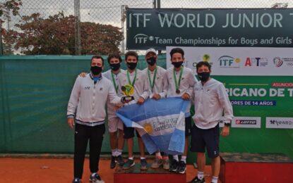 Sub 14: Argentina subcampeón y va la mundial