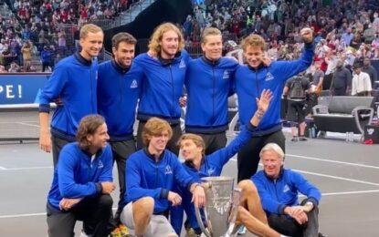 Laver Cup: Team Europa conservó el titulo