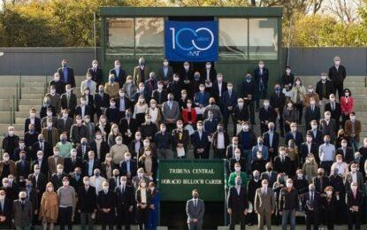 Un siglo de tenis: la AAT cumple 100 años y lo celebra junto a los clubes