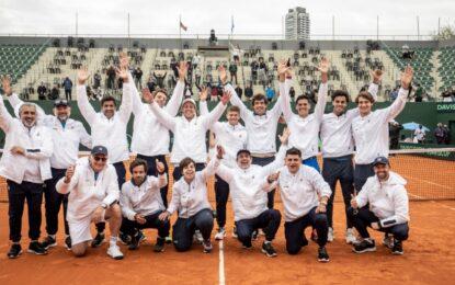 En la despedida de Gaudio como capitàn, ganó Argentina y se clasificó a los Qualifiers de la Copa Davis 2022