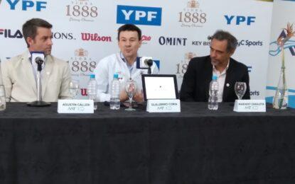 AAT: Presentación oficial del nuevo Capitán del equipo argentino de Copa Davis