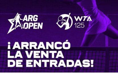 Ya está la lista de jugadoras para Argentina Open WTA 125K