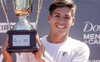 Sebastián Báez campeón en el Dove Men+Care Legión Sudamericana Challenger de Buenos Aires